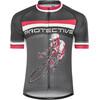 Protective Hell Rider Kortärmad cykeltröja Herr svart